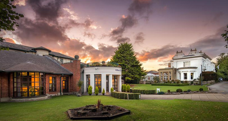 Hilton Hotel at Puckrup Hall, Gloucestershire